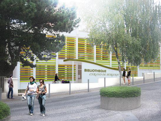 Bibliothèque de Clichy sous Bois